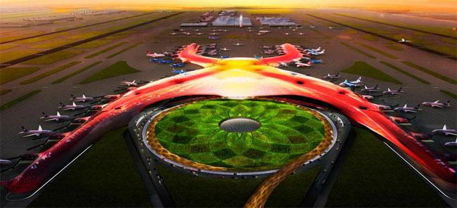 Nuevo Aeropuerto de la Ciudad de México, ID1975, Norman Foster, 2014